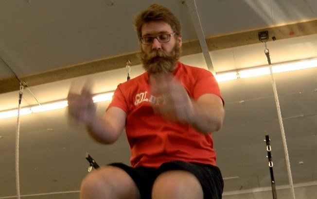 """Butte's Copper City CrossFit gym hosted its annual """"Hypoxia Team Throwdown"""" event, which features roughly four times the amount of work a normal CrossFit athlete would do in a typical day."""