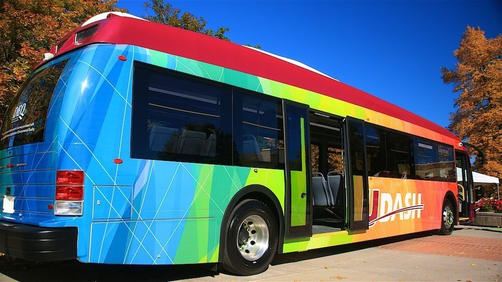 University Of Montana Launches First Campus Electric Bus
