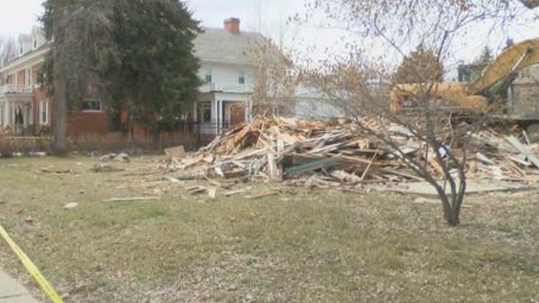 Historic Bon Ton District Home Demolished Q2 Continuous News Coverage Billings Mt