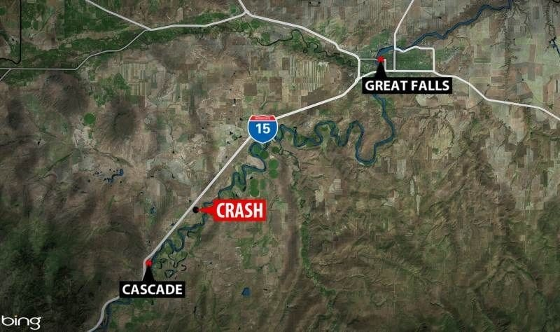 update 3 20 p m one man died in a car crash along old us highway 191 near old ulm cascade road between ulm and cascade on saay