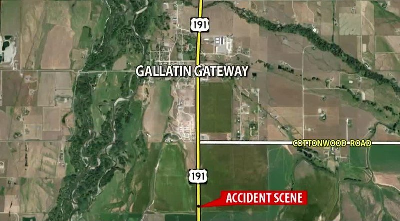 woman killed in two vehicle crash near gallatin gateway kbzkcom continuous news bozeman montana