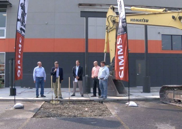 Simms fishing products breaks ground on expansion kbzk for Simms fishing jobs