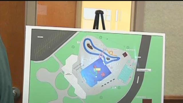 Proposed New Pool To Feature Waterslide Lazy River At Cost Of Q2 Continuous